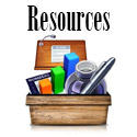 This link leads to our listings of teacher and other resources.