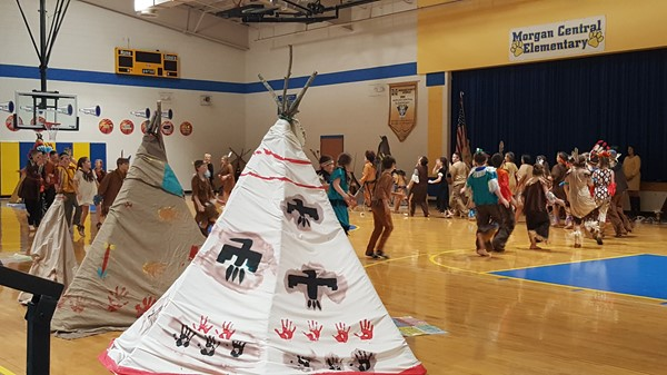 5th Grade Native American Pow Wow