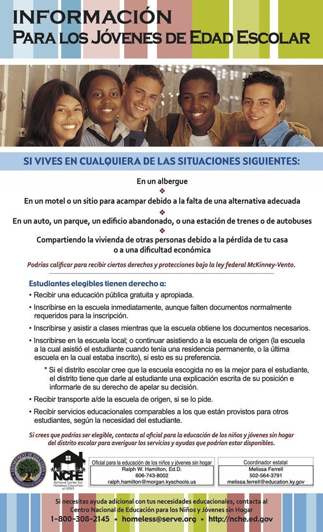 Youth Poster Spanish