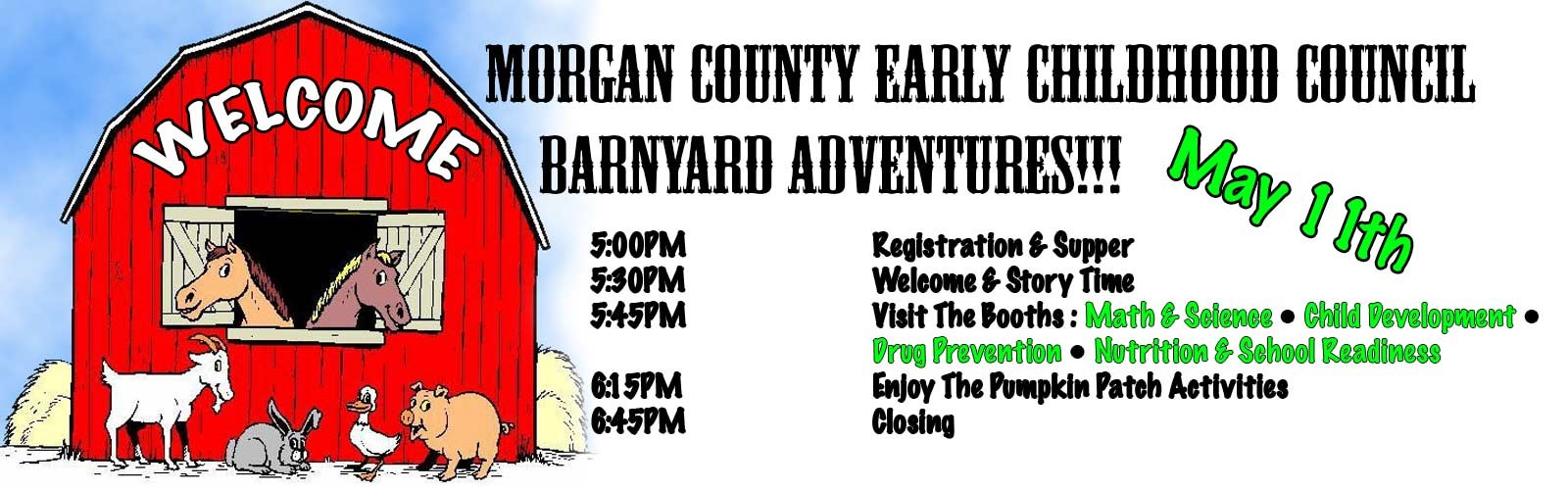 Barnyard Adventures May 11th