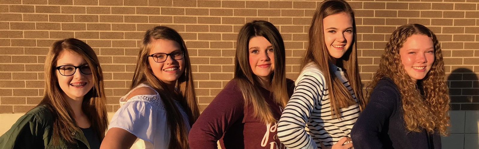 Morgan County Middle School National Junior Honor Society Officers