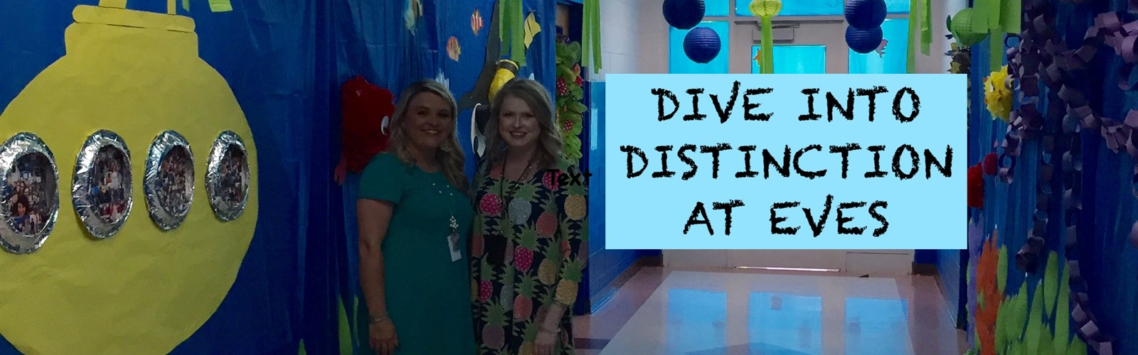 The 3rd - the 5th grade teachers and students are diving into distinction.