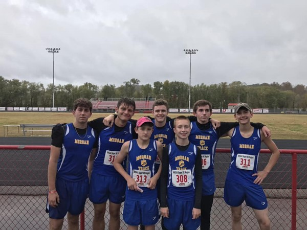 Boys Cross Country Team qualified to compete at the State Cross Country event