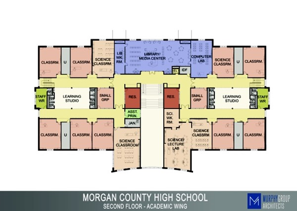 Floor Plan of classrooms